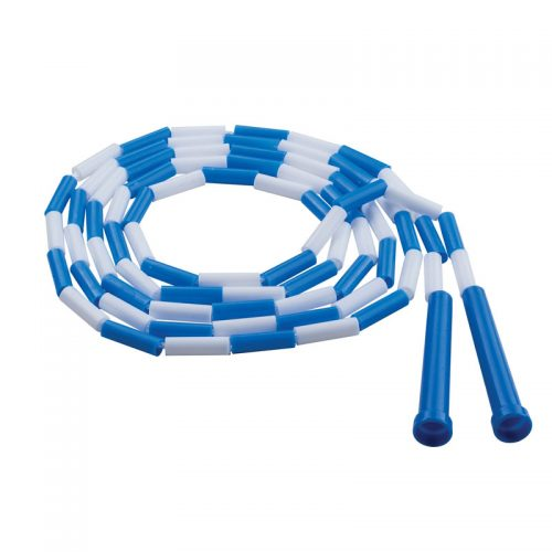 Champion Sports CHSPR9BN Plastic Jump Rope Blue & White