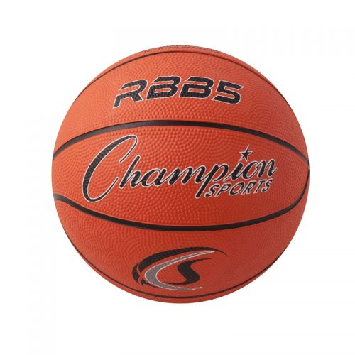 Champion Sports CHSRBB5BN 7 in. Mini Rubber Basketball