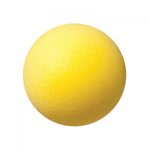 Champion Sports CHSRD4BN 4 in. Foam Ball Yellow