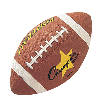 Champion Sports CHSRFB3 Football Junior Sized