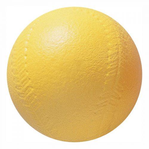 Champion Sports CHSSB4 4 in. Yellow Coated Foam Softball High Density