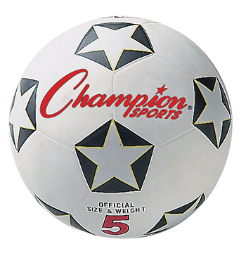 Champion Sports CHSSRB3 Champion Soccer Ball No 3
