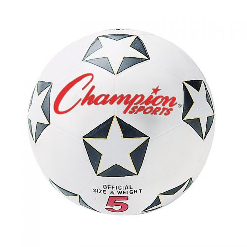 Champion Sports CHSSRB5BN No.5 Champion Soccer Ball