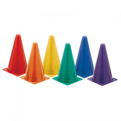 Champion Sports CHSTC9SETBN Hi Visibility Plastic Cone Set
