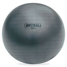 Champion Sports CSIBRT65 Gray Training-Exercise Ball 25.59 in.