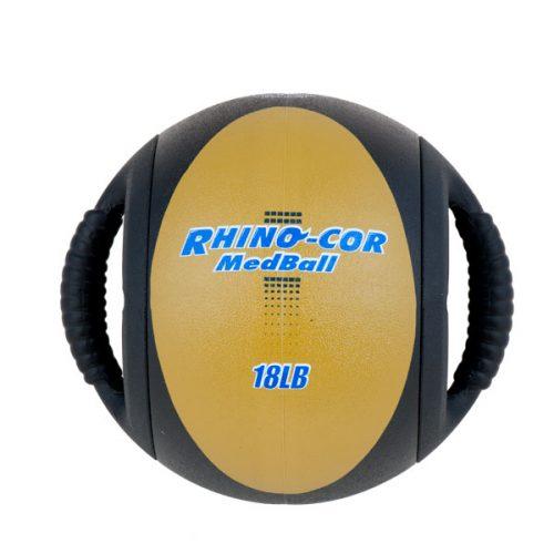 Champion Sports CXB18 18 lbs Rhino-Cor Medicine Ball Tan