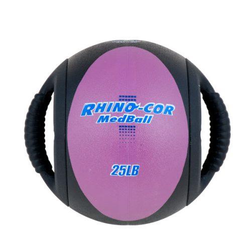 Champion Sports CXB25 25 lbs Rhino-Cor Medicine Ball Purple