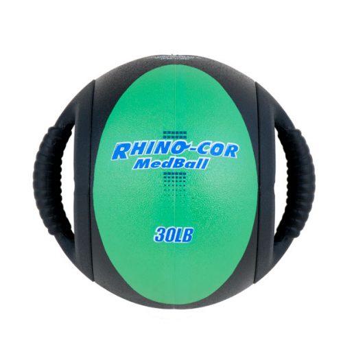 Champion Sports CXB30 30 lbs Rhino-Cor Medicine Ball Green