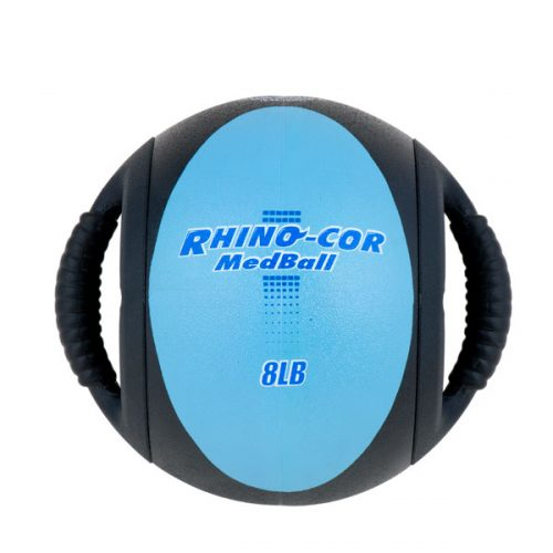Champion Sports CXB8 8 lbs Rhino-Cor Medicine Ball Teal