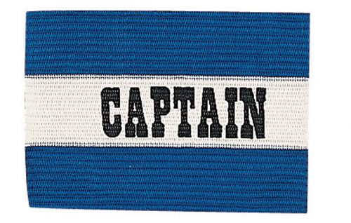 Champion Sports CYPBL Youth Captain Arm Band Royal & White
