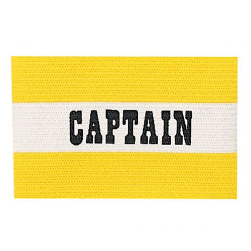 Champion Sports CYPYL Youth Captain Arm Band Yellow & White