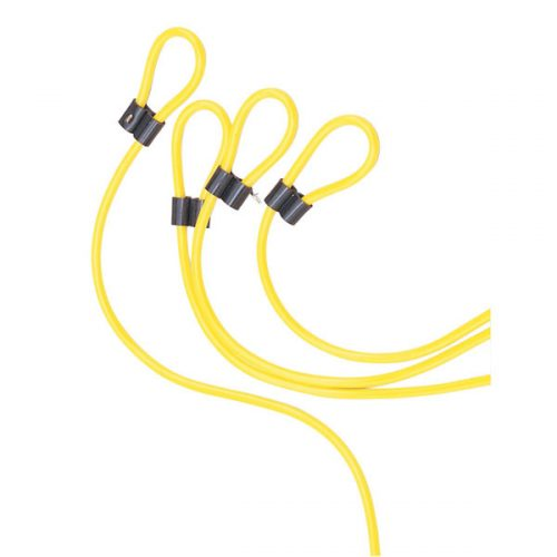 Champion Sports DD12 12 in. Double Dutch Licorice Speed Rope Yellow