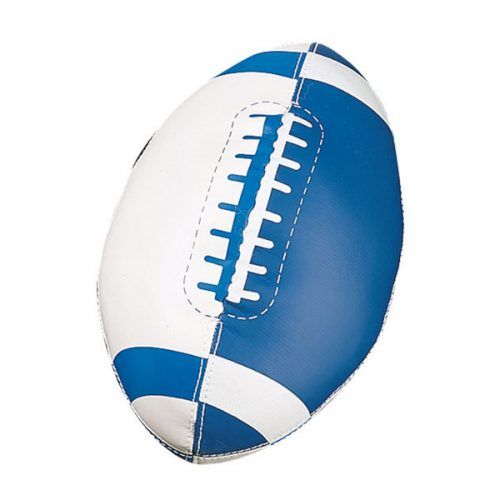 Champion Sports FF7 Soft Sport Mini Football Royal Blue & White - Size 3