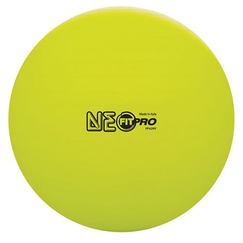 Champion Sports FP42NY 42 cm Fitpro Training & Exercise Ball Neon Yellow