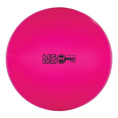 Champion Sports FP65NP 65 cm Fitpro Training & Exercise Ball Neon Pink