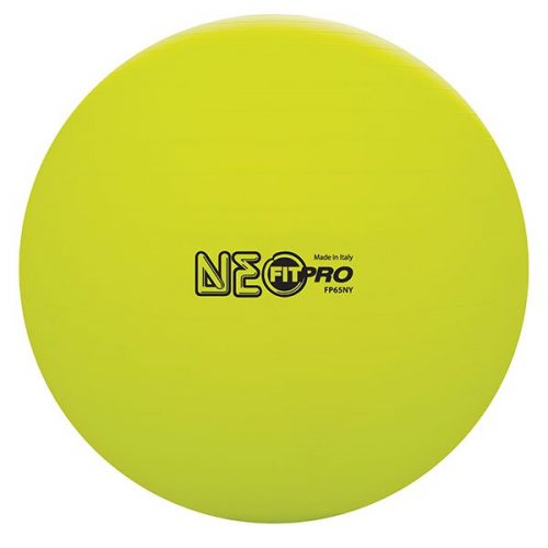 Champion Sports FP65NY 65 cm Fitpro Training & Exercise Ball Neon Yellow
