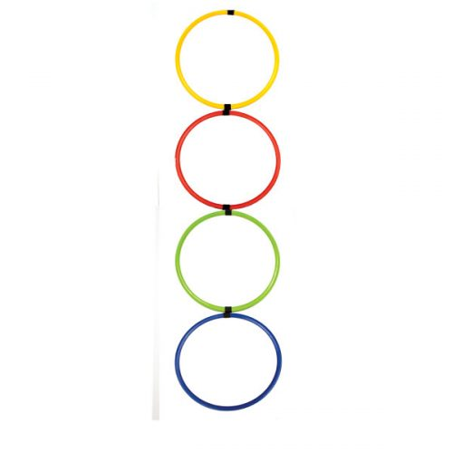 Champion Sports HAL12 Hoop Agility Ladder Multicolor