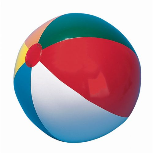 Champion Sports IB20 20 in. Multicolored Beach Ball