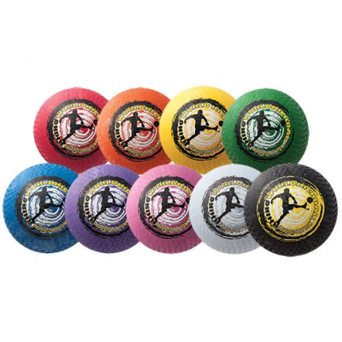 Champion Sports KB10SET 10 in. Rhino World Kickball Set Multicolor - Set of 9