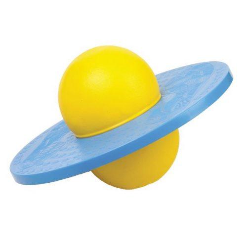 Champion Sports LBALL Balance Platform Ball Yellow & Blue