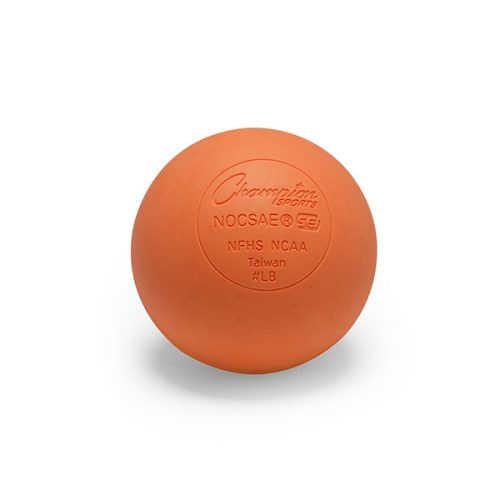 Champion Sports LBONOCSAE 2.5 in. Official Lacrosse Ball Orange