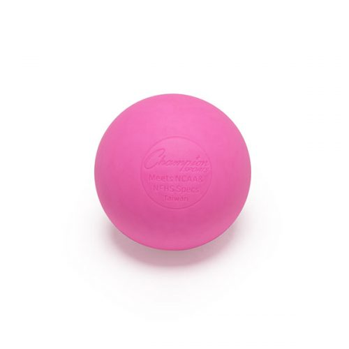 Champion Sports LBP 2.5 in. Official Lacrosse Ball Pink - Pack of 12
