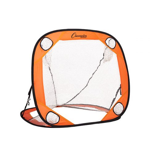 Champion Sports LG44 4 x 4 ft. Multi Position Training Rebounder Orange & Black