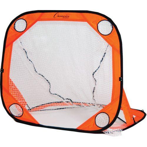 Champion Sports LG66 6 x 6 ft. Multi Position Training Rebounder Orange & Black