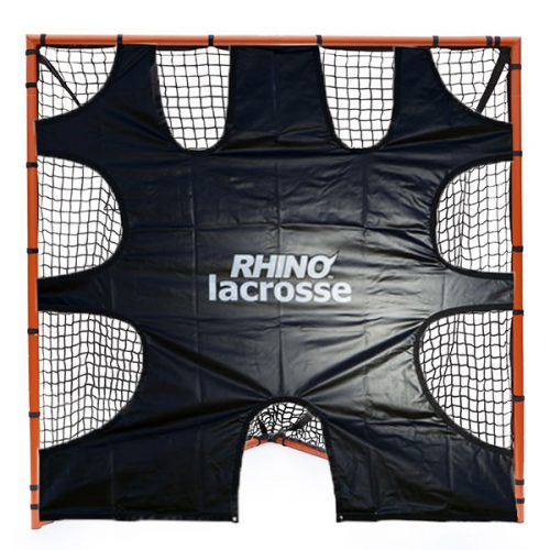 Champion Sports LGT Lacrosse Goal Target Black & Orange