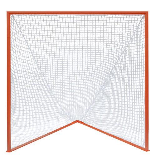 Champion Sports LNGPROXX Pro Collegiate Lacrosse Goal White & Orange