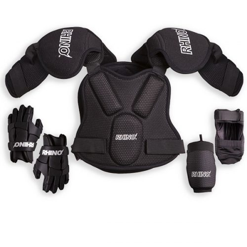 Champion Sports LSETS Rhino Lacrosse Set Black - Small