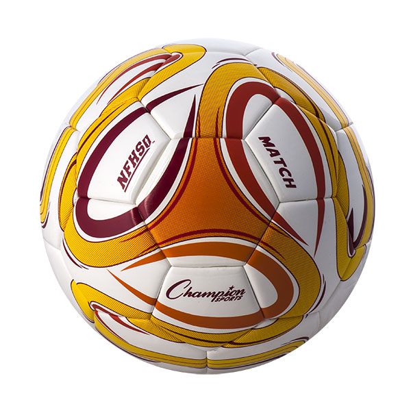 Champion Sports MATCH4 Thermal Bonded Soccer Ball - Size 4