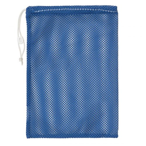 Champion Sports MB18BL 12 x 18 in. Mesh Equipment Bag Royal Blue