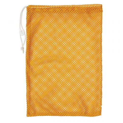 Champion Sports MB18GD 12 x 18 in. Mesh Equipment Bag Yellow