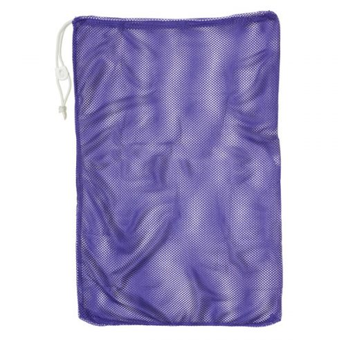 Champion Sports MB18PR 12 x 18 in. Mesh Equipment Bag Purple