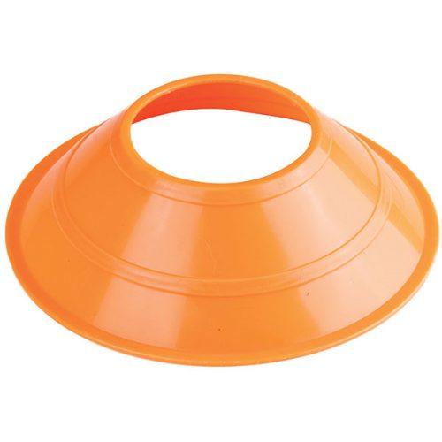 Champion Sports MCXNOR 5 in. Mini Neon Field Cones Neon Orange