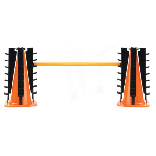 Champion Sports MHCSET Hurdle Cone Set Orange & Black