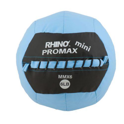 Champion Sports MMX6 6 lbs Mini Rhino Promax Slam Ball Blue