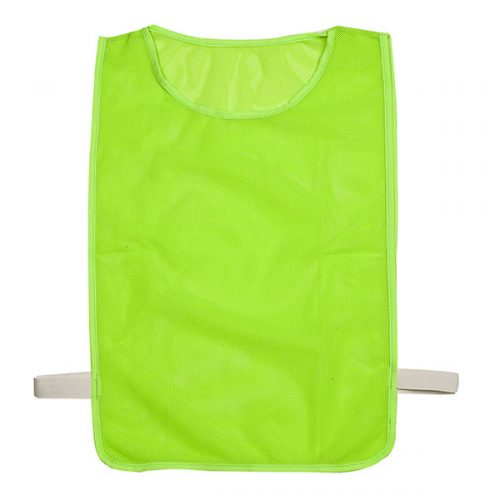 Champion Sports MPANGN Adult Deluxe Pinnie Neon Green - Pack of 12