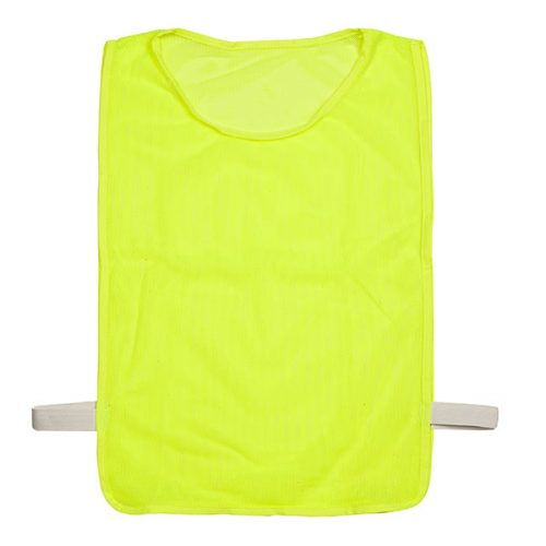 Champion Sports MPANYL Adult Deluxe Pinnie Neon Yellow - Pack of 12