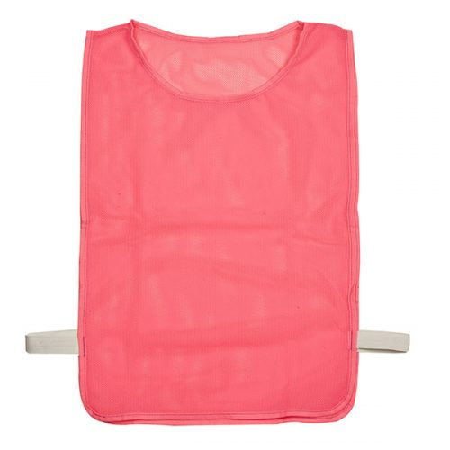 Champion Sports MPYNPK Youth Deluxe Pinnie Neon Yellow - Pack of 12