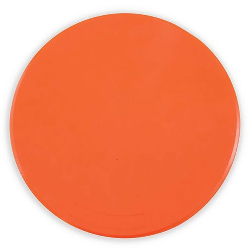 Champion Sports MSP 9 in. Poly Spot Marker Orange - Pack of 12