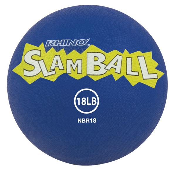 Champion Sports NBR18 18 lbs Rhino Slam Ball Blue