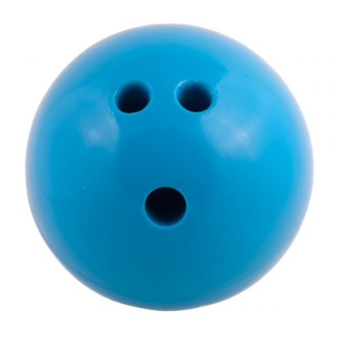 Champion Sports PB4 4 lbs Plastic Rubberized Bowling Ball Blue