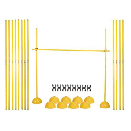 Champion Sports PLYOHRSET Agility Hurdle Set Yellow