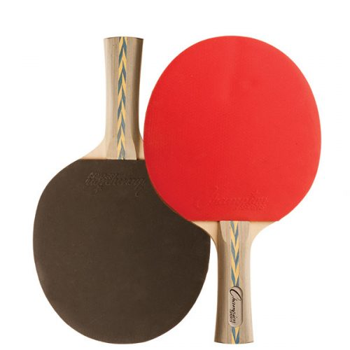Champion Sports PN14 7 Ply Table Tennis Paddle Red & Black