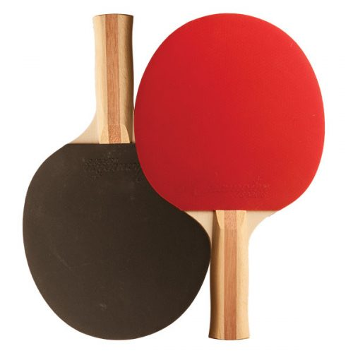 Champion Sports PN9 Table Tennis Paddle Red & Black