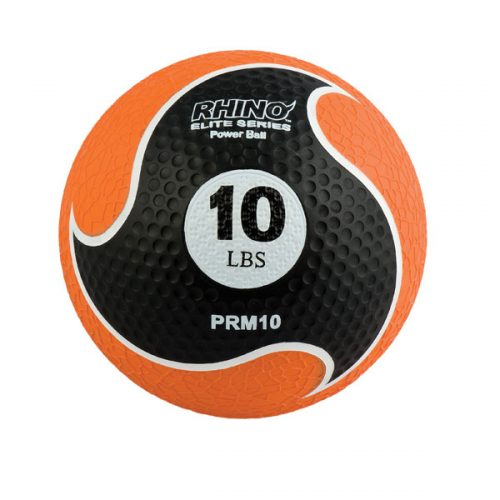 Champion Sports PRM10 10 lbs Rhino Elite Medicine Ball Orange