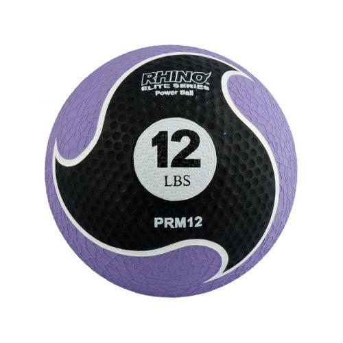 Champion Sports PRM12 12 lbs Rhino Elite Medicine Ball Purple