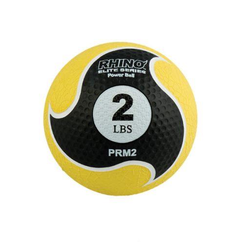 Champion Sports PRM2 2 lbs Rhino Elite Medicine Ball Yellow